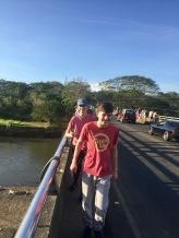 Drew & James on Bridge