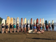 Some enjoyed surfing!
