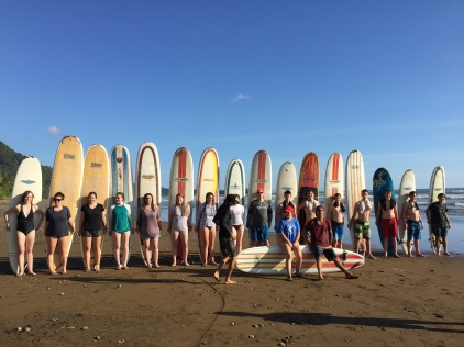 Some enjoyed surfing!