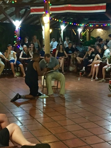 Mr. Farrell plays to Costa Rica
