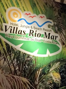 Where we're staying in Dominical